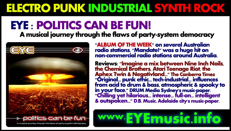 Eye dark alternative electro industrial cyber gothic for 2000s house music