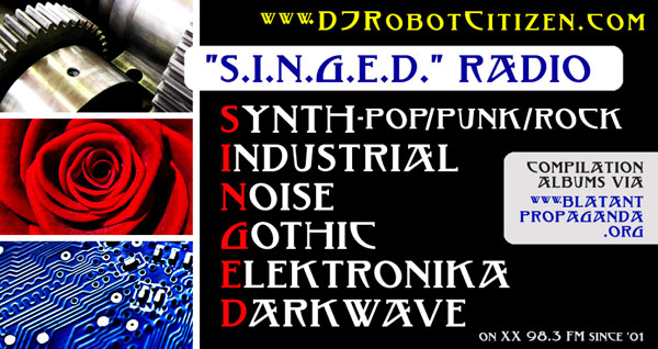 Australian Dark Alternative Music Radio Station 2XX Top Good Best Early New Shows Podcast Podcasts Programmes Programs Lists Mixes Hosts Elektro Electro Gothic Industrial Electronique Musique Electronica Synth Pop Wave Musician Radioshow DJs Producers DJ Robot Citizen