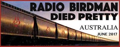Australian Bands Died Pretty Radio Birdman June 2017 National Tour Australia