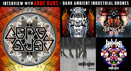 Interview feature on Abre Ojos Scott Baker Australian Dark Ambient Noise Drones Experimental Underground Musique Concrete Music Sound Artists Musicians Australia