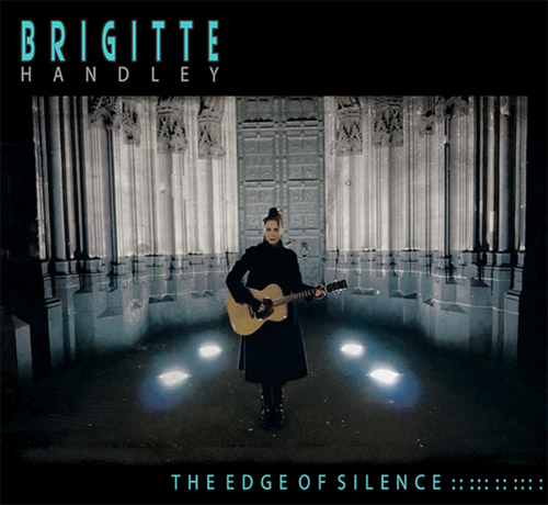 Australian Gothic Musician Brigitte Handley of Sydney Australia Music Band The Dark Shadows Deutsche Köln Cologne Germany Deutschland Europe The Edge Of Silence Album Cover dark post punk gothic goth rock musicians Group Artist