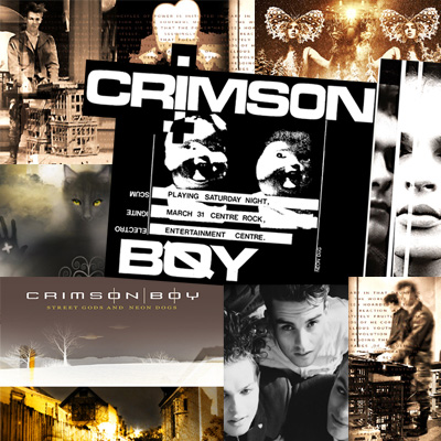 Crimson Boy Perth Australia Australian Dark Electronica Cold Wave Music Band Group Musicians Photo Images Photos Pictures