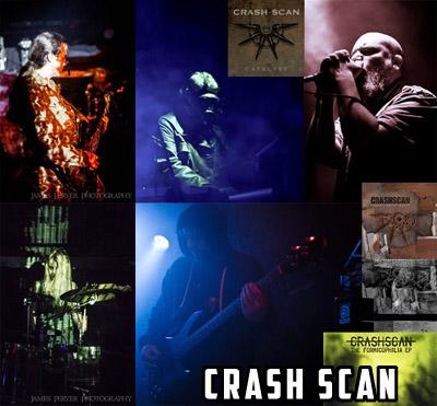 Crash Scan Wellington New Zealand NZ doom post industrial metal sludge dark rock musicians music Band Group Project Artist Images Photos Pictures