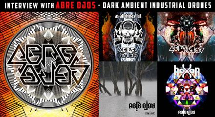 Interview feature on Abre Ojos the Australian Dark Ambient Noise Experimental Drone Underground Music Scott Baker Sound Artist Musician Musique Concrete Australia