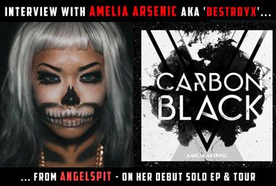 Amelia Arsenic Destroyx Angelspit Musician Singer Vocalist Musician Solo Project Artist Image Photo Picture