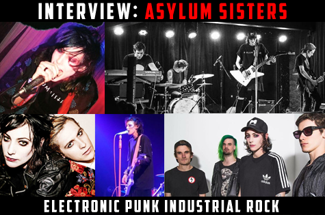 Asylum Sisters Melbourne Victorian Dark Alternative Electronic Industrial Band Group Musicians Project Artist Photos Images Pictures
