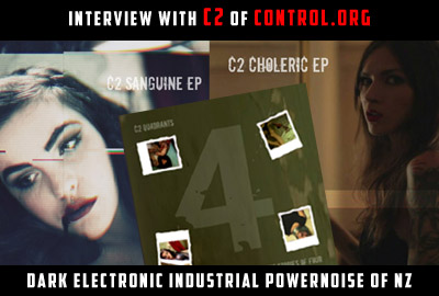 C2 Control.org New Zealand NZ Kiwi Dark Alternative Electronic Industrial PowerNoise Dance Music Band Group Musician Project Quadrants Album Cover Artist Images Photos Pictures