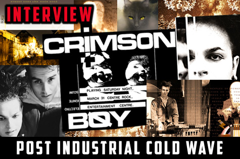 Crimson Boy Perth WA Western Australian Dark Alternative Electronic Industrial Band Group Musicians Project Artist Photos Images Pictures